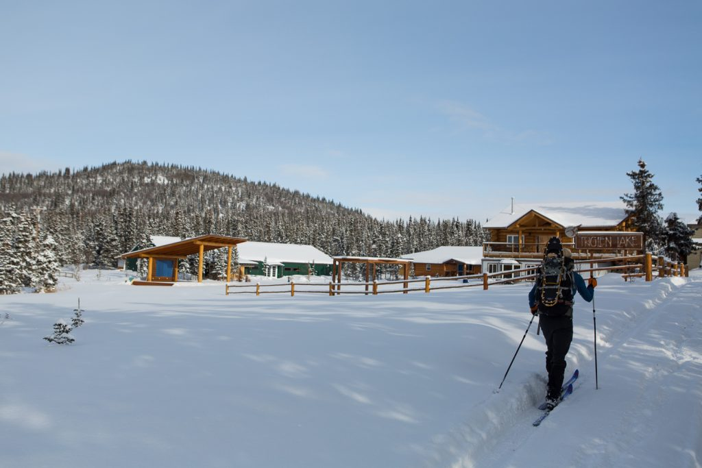 Traverse Alaska Winter