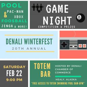 Winterfest Game Night! @ Totem Bar